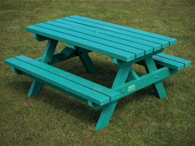 Junior Picnic Bench Green