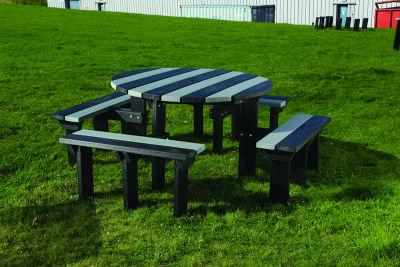 Junior Olympic Bench - Black & Grey