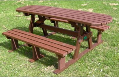 Picnic-Bench-Sturdy-Extended-Top-Brown-460x300