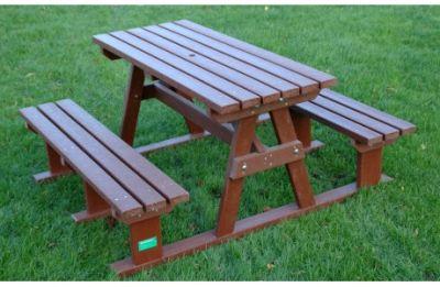 Picnic-Bench-Sturdy-Brown-460x300
