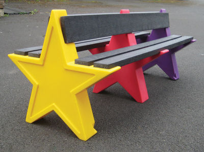 Double Sided Star Bench