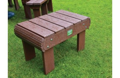 Recycled Plastic Table Brown