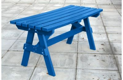 Parthenia Easy Clean Recycled Plastic A Table Blue