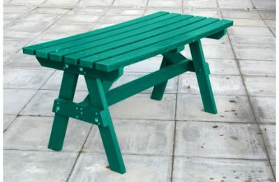 Parthenia Easy Clean Recycled Plastic A Table Green