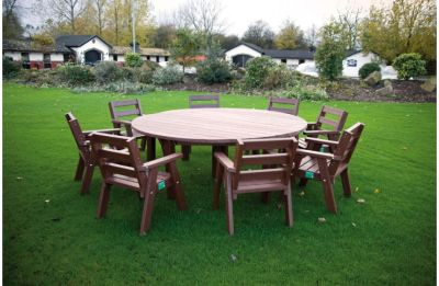 Parthenia Large Plastic Circular Table