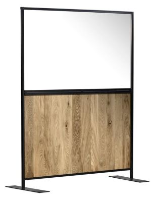 Protect Express Hospitality Screens With An Oak Effect Panels 2
