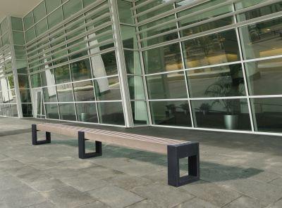 Parthenia Street Bench 360