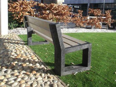Parthenia Bench With Back Garden