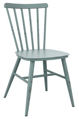 Corak Outdoor Side Chair In Ligt Blue