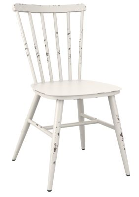 Coral Side Chair In White