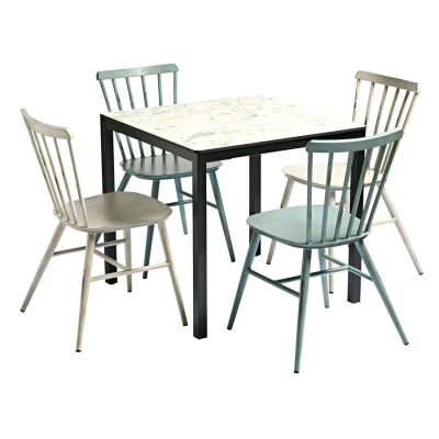 Carrara Marble Bistro Set