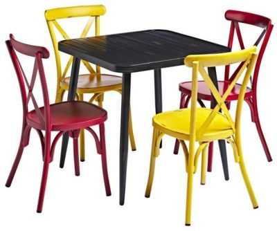 Angelica Four Person Bistro Set No 2