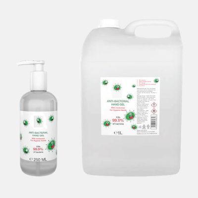 Antibacterial Hand Sanitiser Gel - 60% Alcohol