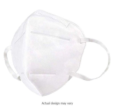 Protective KN95 Respirator Face Masks - Pack Of 100