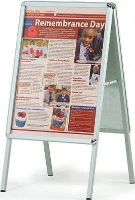 WS A-Frame Poster Display Content