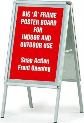 WS A-Frame Poster Display