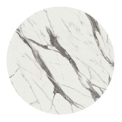White Marble Round Table Top