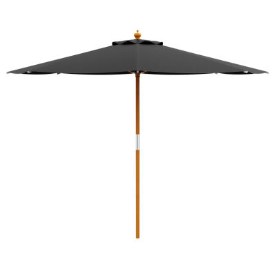 Outdoor Garden Parasol - Black