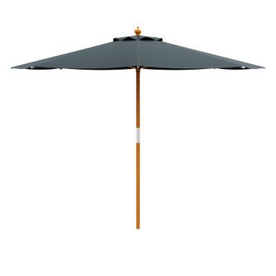 Outdoor Garden Parasol - Dark Grey