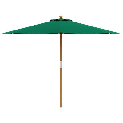 Outdoor Garden Parasol - Green