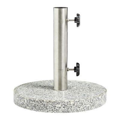 Circular Granite Parasol Base