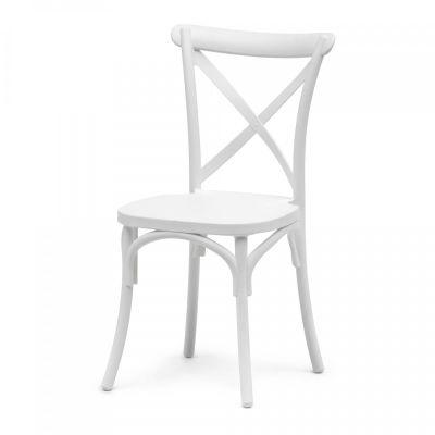 Fern White Polypropylene Chair