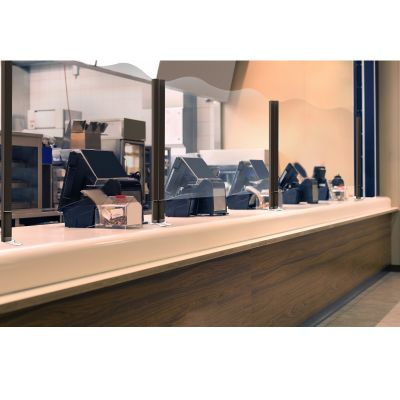 Visio 1000mm High Counter Top - 1