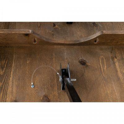 Fern Fermette High Folding Table Under Detail