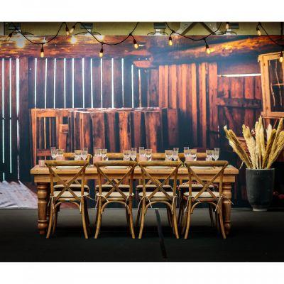 Fern Fermette Folding Farm Table Mood 2