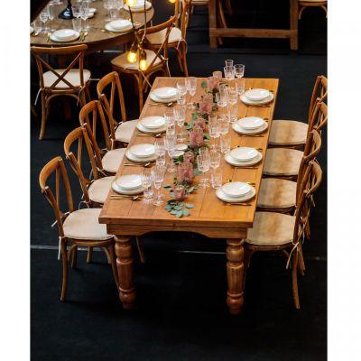 Fern Fermette Folding Farm Table Mood