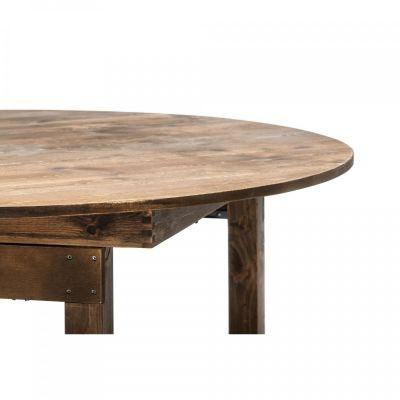 Fern Fermette Round Folding Table Detail