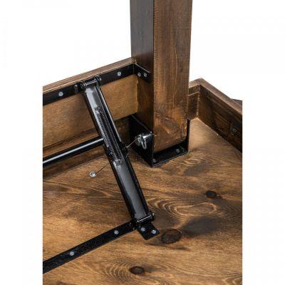 Fern Fermette Round Folding Table Leg Mechanism
