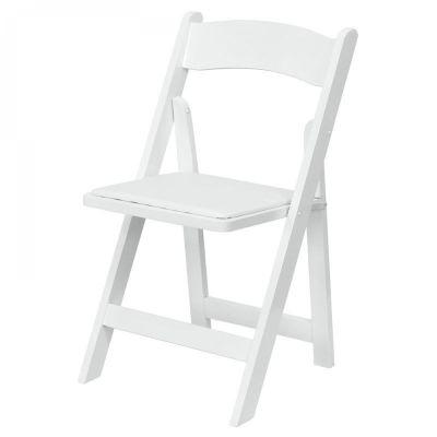 Fern Davis Foldable Chair White