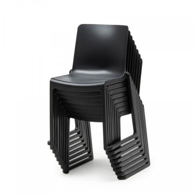 Kasar Chair Black Stacked