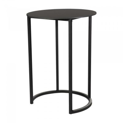 Fern Curve Party Table Black
