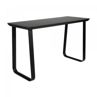 Fern Grande Rock Party Table Black Frame Melamine