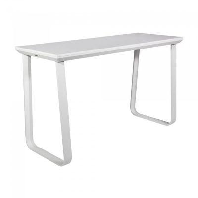 Fern Grande Rock Party Table White Frame Melamine