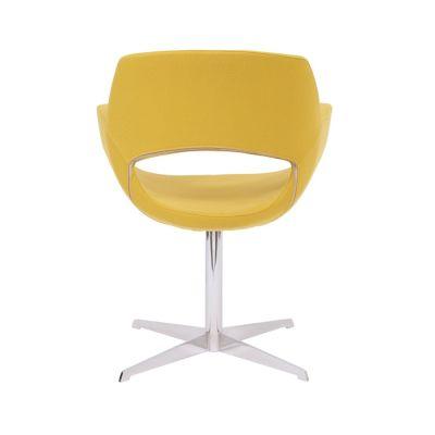 Shade-Swivel-Chrome-Frame Yellow Back