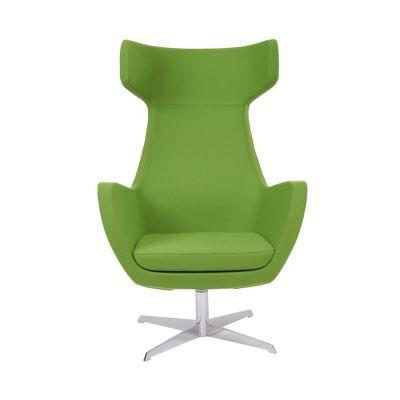 Oregon-Chair-Chrome-Swivel-Frame Front