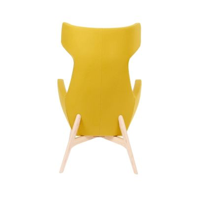 Oregon-Chair-Wooden-Frame Yellow Back