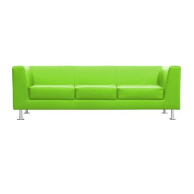 Square-3-Seater-Lime-Green