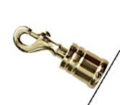 Intrepid Trigger Rope Hook Brass