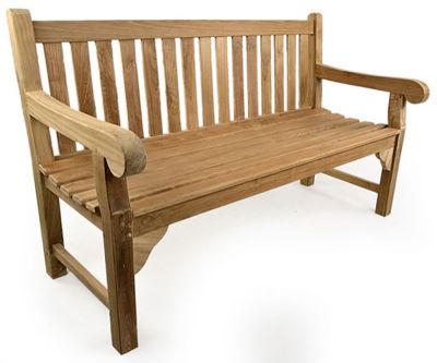 Chalton Three Seater Grade A Teak Bench