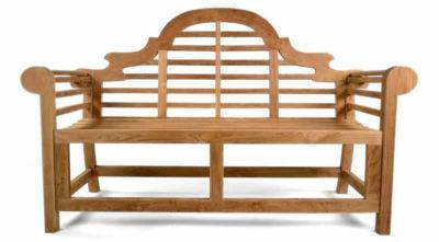 Lutyens Three Person Outdoor Teak Bench