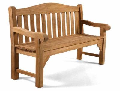 Milton Three Seater Outdoor Grade A Teak Bench
