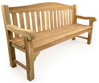 Milton 4 Person Outdoor Teak Bench