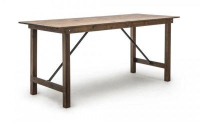 Fern Antique Pine Folding Table