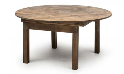 Fern Antique Pine Folding Round Table