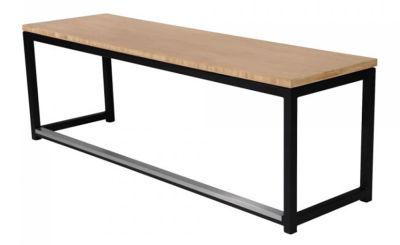 Fern Lounge Sofa Black Frame Bamboo Seat