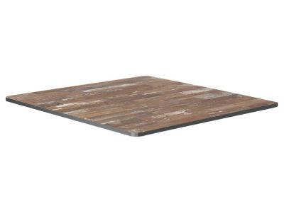 Planked Vintage Wood HPL Table Top